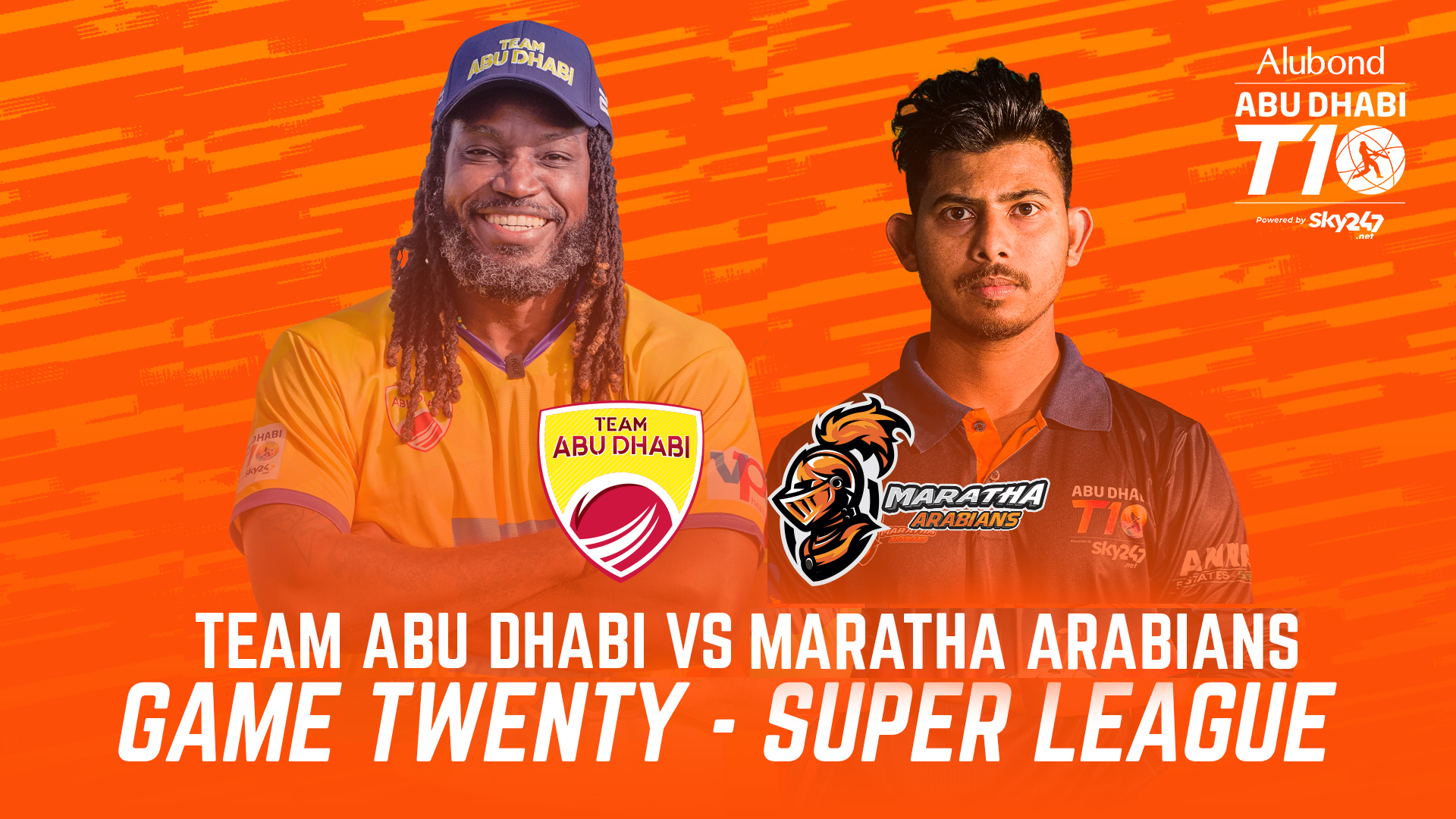 Match 20 I HIGHLIGHTS I Team Abu Dhabi vs Maratha Arabians