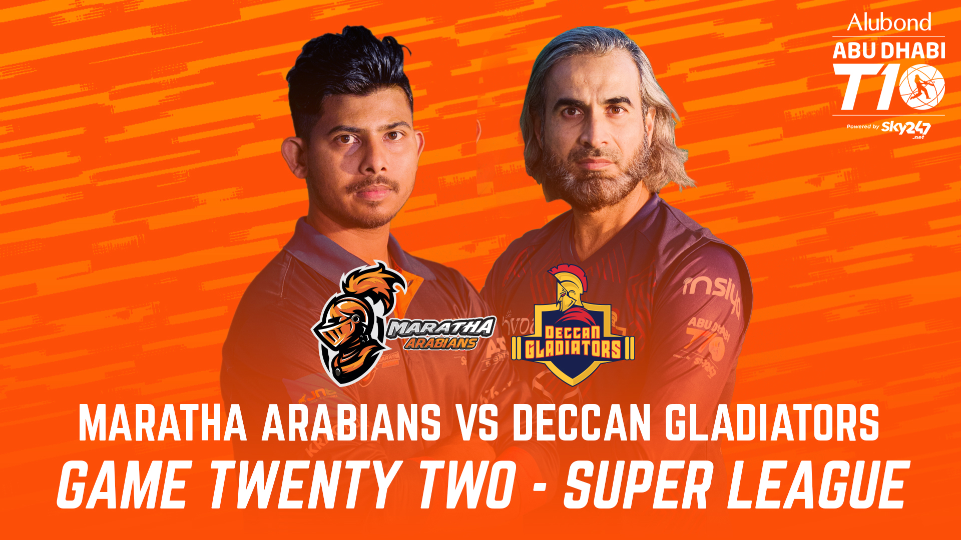 Match 22 I HIGHLIGHTS I Maratha Arabians vs Deccan Gladiators