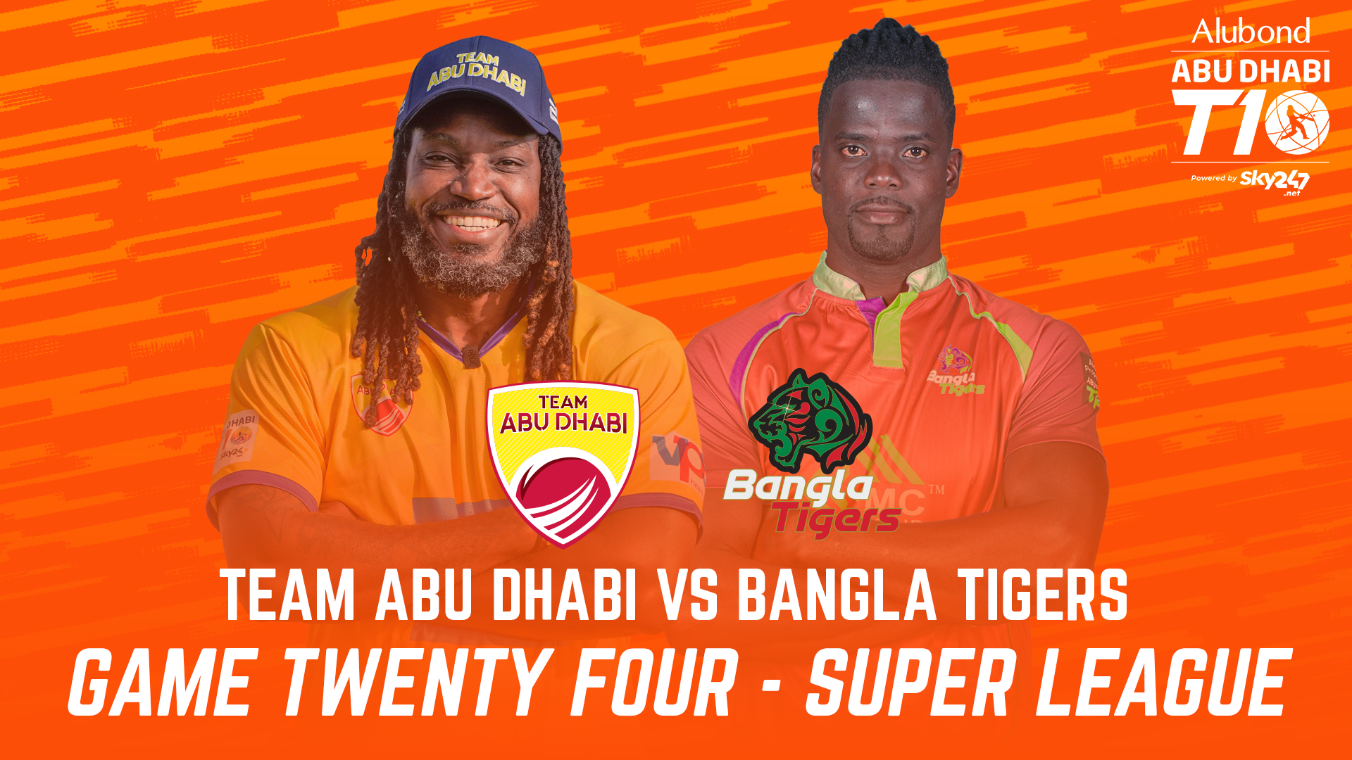 Match 24 I HIGHLIGHTS I Team Abu Dhabi vs Bangla Tigers