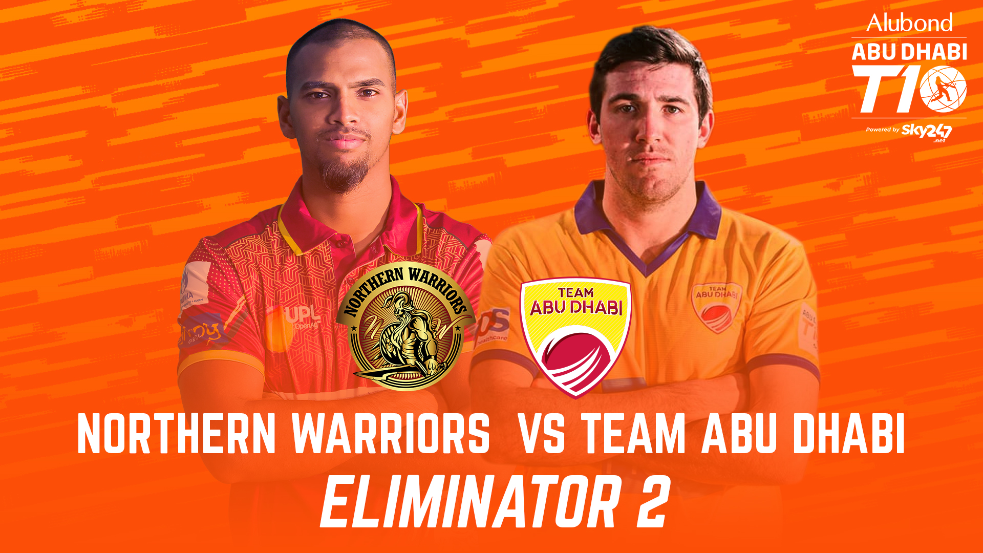Match 27 I Eliminator 2 I Day 9 I HIGHLIGHTS I Northern Warriors vs Team Abu Dhabi