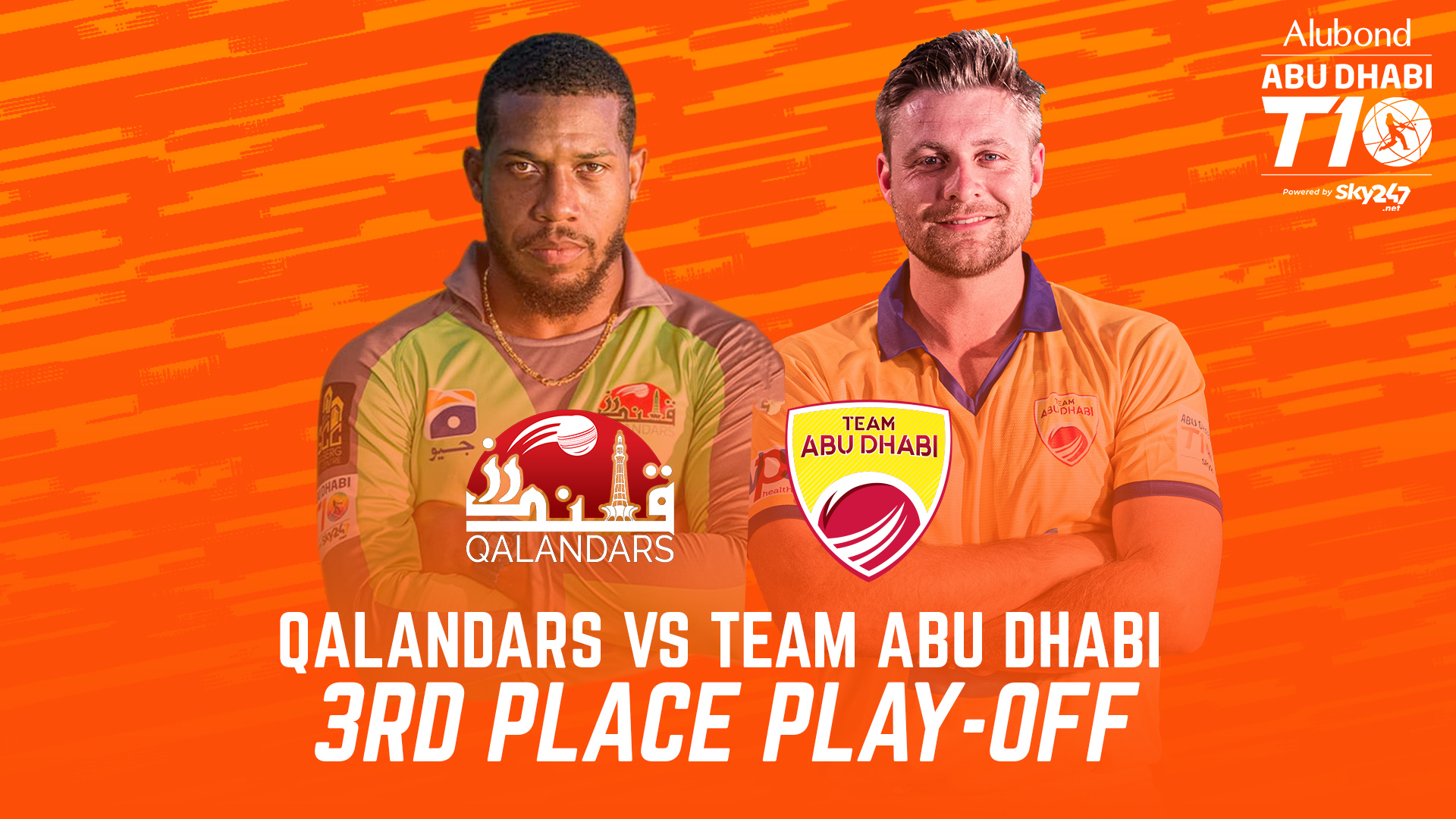 Match 28 I 3RD PLACE PLAY-OFF I Highlights I Qalandars vs Team Abu Dhabi